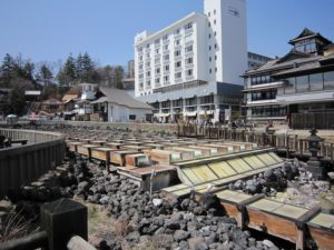 Onsen eggs and konnyaku are delicious! Enjoy the popular onsen town, Kusatsu